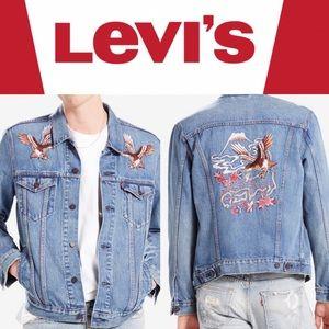 Levi's Embroidered Japan Eagle Denim Jacket XL